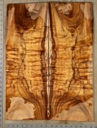 Curly Koa Guitar Set ~ Hearne Hardwood Inc.