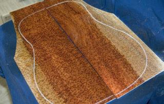 Pomelle Bubinga Acoustic Guitar Set