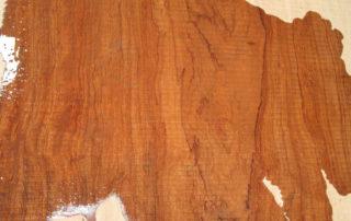 Bubinga Grain and Color Sample