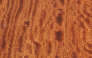 Figured Bubinga Wood