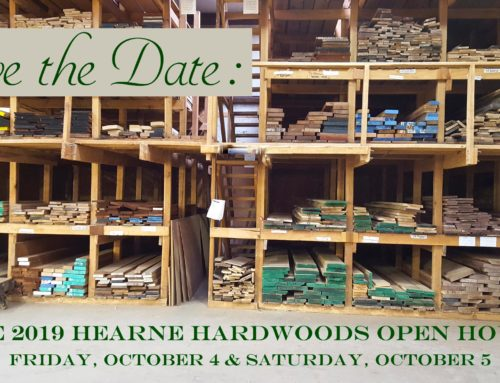 Save the Date(s) for the 2019 Hearne Hardwoods Open House