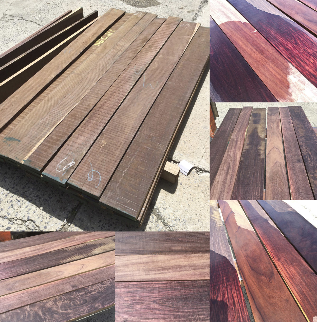 katalox, mexican ebony, wood now in stock at Hearne Hardwoods Inc.