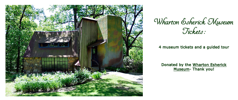 Win Wharton Esherick Museum Tickets at the 2019 Hearne Hardwoods Open House