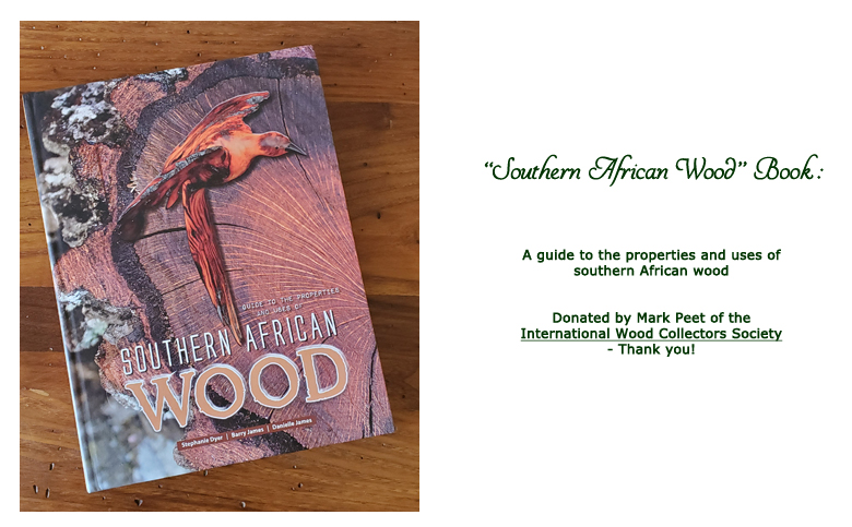 Win Southern African Wood book at the 2019 Hearne Hardwoods Open House
