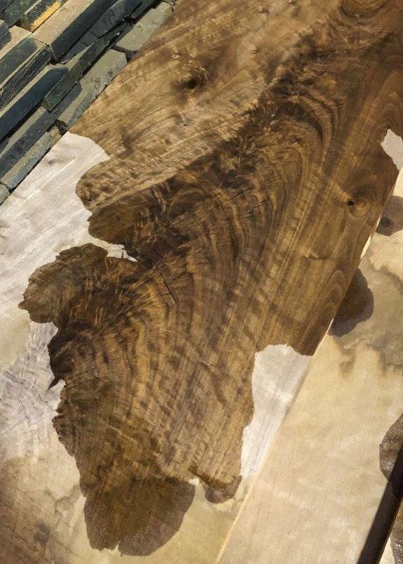 5/4 crotch black walnut at Hearne Hardwoods Inc.