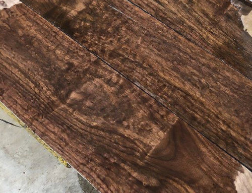 We are kicking 2020 off with a BANG!  Wait until you see our new Figured Walnut!