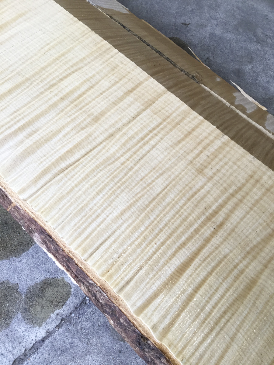 Book-matched 6/4 Quartersawn, Highly Figured English Sycamore at Hearne Hardwoods