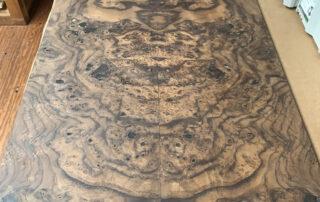 walnut burl plywood panels at Hearne Hardwoods Inc.