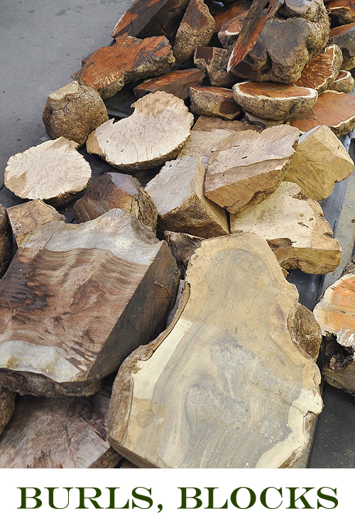 Buy Burls, Blocks and Turning Materials at Hearne Hardwoods Inc