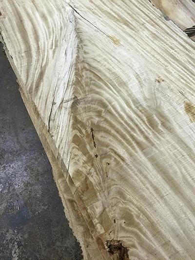 Buy figured primavera slabs at Hearne Hardwoods Inc.