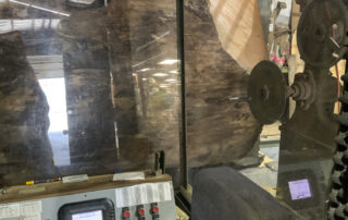 sitka spruce being processed into guitar tops at Hearne Hardwoods Inc