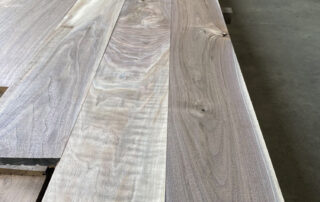 sample picture of character grade black walnut