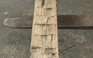 Buy Reclaimed American Chestnut Beams - Rustic Mantle at Hearne Hardwoods Inc.