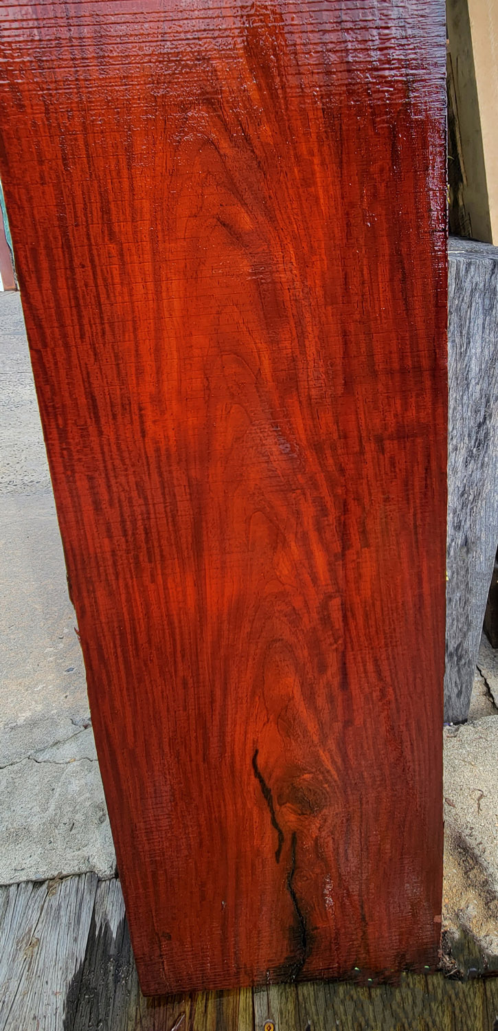 Win this Cocobolo Board at the 2021 Hearne Hardwoods Open House