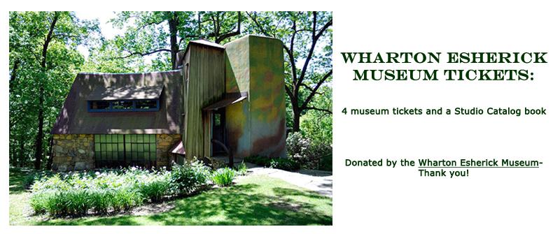 Win Wharton Esherick Museum Tickets at the Hearne Hardwoods Open House